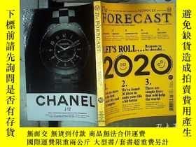 二手書博民逛書店The罕見forecast issue 10 2020 2020年第10期預測 ,Y180897
