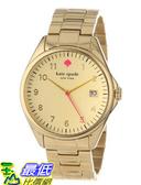 [美國直購 USAShop] 手錶 kate spade new york Women s 1YRU0030 Large Gold Seaport Watch $8487