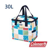 Coleman 保冷袋30L 薄荷藍 CM-27235 露營│登山│行動冰箱│保冰袋│野餐│便當袋