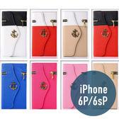 iPhone 6P / 6sPlus 拉鍊錢包 海盜船皮套 插卡 側翻 手包 手機套 手機殼 保護套 配件