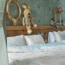 床包被套組 / 雙人特大【夢遊愛麗絲】含兩件枕套,100%精梳棉,戀家小舖台灣製