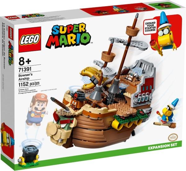 樂高LEGO SUPER MARIO 超級瑪利歐兄弟 庫巴飛行船 71391 TOYeGO 玩具e哥