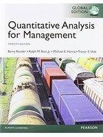 二手書博民逛書店 《Quantitative Analysis for Management, Global Edition》 R2Y ISBN:129205932X│NA