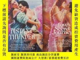 二手書博民逛書店《love secret罕見journey》+《distant
