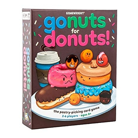 【KANGA GAMES】Go Nuts for Donuts 甜甜圈也瘋狂  家庭益智派對桌上遊戲