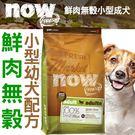 【培菓平價寵物網】Now 鮮肉無穀天然糧小型成犬配方-6磅/2.72kg