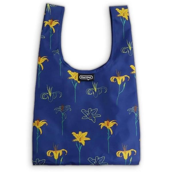 ﹝三代﹞murmur 金針花 便當袋 購物袋 手提袋 隨身購物袋 小購物袋 飲料袋