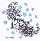 薇嘉雅 愛心 超炫圖案紋身貼紙 TM70...