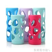 交換禮物水壺袋保溫杯矽膠套玻璃水杯保護套時尚安全防燙隔熱防滑 貝芙莉