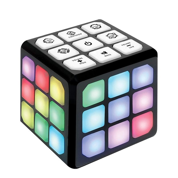 4合1魔術方塊 訓練腦和記憶 Flashing Cube Brain & Memory Game for Kids [9美國直購]