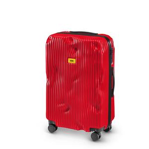 Crash Baggage Stripe 條紋中行李箱25吋-紅