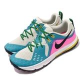 【六折特賣】Nike 慢跑鞋 Air Zoom Wildhorse 5 米白 藍 越野跑鞋 男鞋 運動鞋【PUMP306】 AQ2222-100