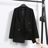 網紅小西裝外套女2020春秋新款寬鬆氣質韓版休閒英倫風西服外套女 夏季新品
