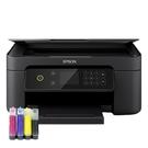 【加裝連續供墨系統 四色防水型】EPSON XP4101 三合一自動雙面列印複合機