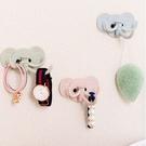 現貨-北歐風創意可愛大象壁掛粘鉤 廚房浴室免釘掛鉤 隨機出貨【A110】『蕾漫家』