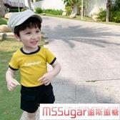 男童短袖t恤2020年夏季新款小童純棉洋氣兒童夏裝半袖寶寶上衣潮