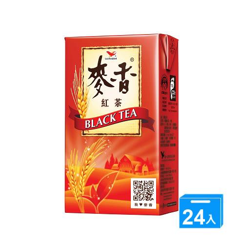統一麥香紅茶250ml*24入/箱【愛買】