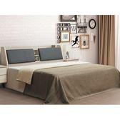 床架 AT-354-1A 鋼刷白梣木5尺雙人床 (床頭+床底)(不含床墊) 【大眾家居舘】