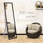 穿衣鏡實木穿衣鏡服裝店試衣鏡家用全身鏡簡約掛壁鏡子 交換禮物
