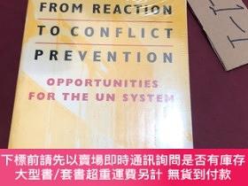 二手書博民逛書店from罕見reaction to conflict freventionY237539 Fen Rienne
