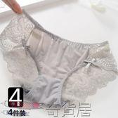 性感女士內褲蕾絲日繫純棉檔內褲