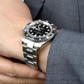 男錶 鋯石鋼錶范倫鐵諾.古柏手錶NEV107
