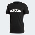 ADIDAS D2M Climalite Soft Logo 男裝 短袖 休閒 慢跑 經典 基本 排汗 透氣 黑【運動世界】EI5655