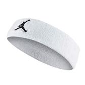 NIKE JORDAN JUMPMAN [JKN00101OS] 男女 頭套 頭帶 運動 籃球 喬丹 毛巾 吸汗 白