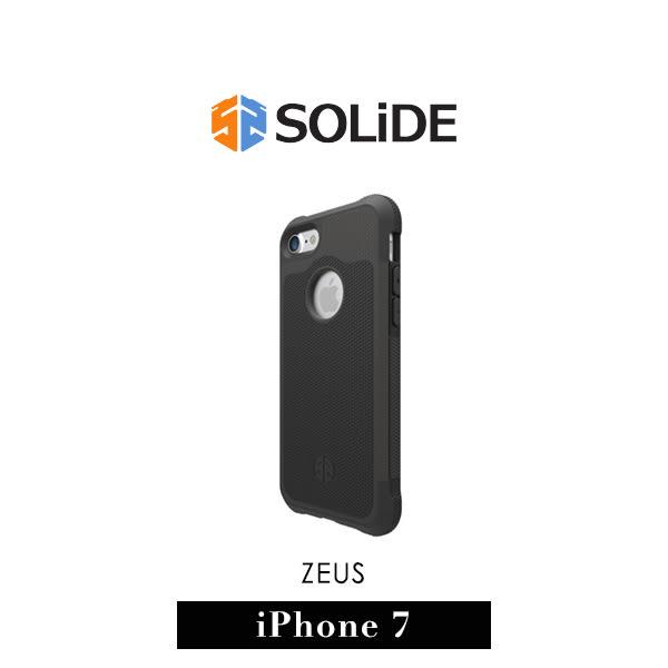 【G2 STORE】SOLiDE ZEUS 軍規級 iPhone 7 防摔 保護殼 石墨黑