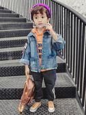 兒童牛仔外套童裝男童牛仔外套新款韓版兒童秋裝夾克小男孩春秋裝寶寶潮衣多莉絲旗艦店