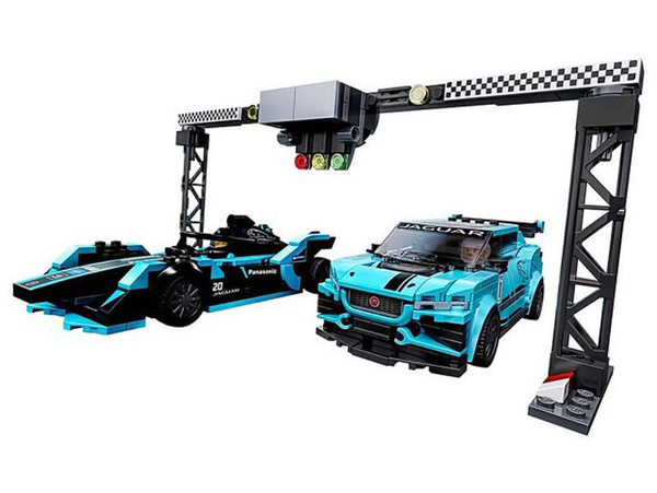 【LEGO樂高】SPEED Formula E Panasonic Jaguar I-PACE  #76898