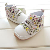 清新碎花  軟膠底學步鞋.童鞋.室內鞋  0~24M  橘魔法 Baby magic現貨 嬰兒 兒童 小童 女童