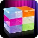 [超豐國際]折疊塑料收納盒透明收納箱鞋盒...