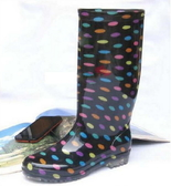 長筒雨靴-細緻防水魅力防滑男女雨鞋4色5s29[時尚巴黎]