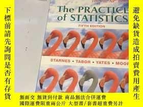 二手書博民逛書店英文原版:The罕見Practice of Statistics