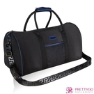 Versace 凡賽斯 典藏黑男士旅行袋(49X20X35cm)【美麗購】