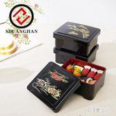 雙劍日式鰻魚盒日式料理壽司盒家用飯盒長方形商務保溫便當盒 LR7595【艾菲爾女王】