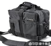 佳能單反相機包700D 750D 60D 70D 80D 6D 7D 5D3 5D4單肩攝影包 (橙子精品)