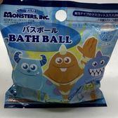 日本 入浴劑 沐浴劑 泡泡球 沐浴球-藍怪獸電力公司 (0743) 單入 -超級BABY