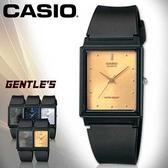 CASIO手錶專賣店 卡西歐 MQ-38-9A 女錶 指針表 膠質錶帶 扣帶式錶帶 金面 壓克力鏡面