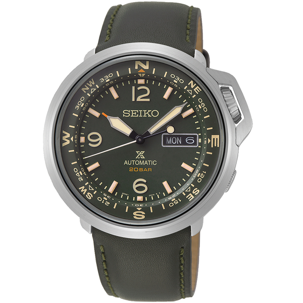 SEIKO精工PROSPEX復古時尚機械錶 4R36-07A0G SRPD33J1 綠