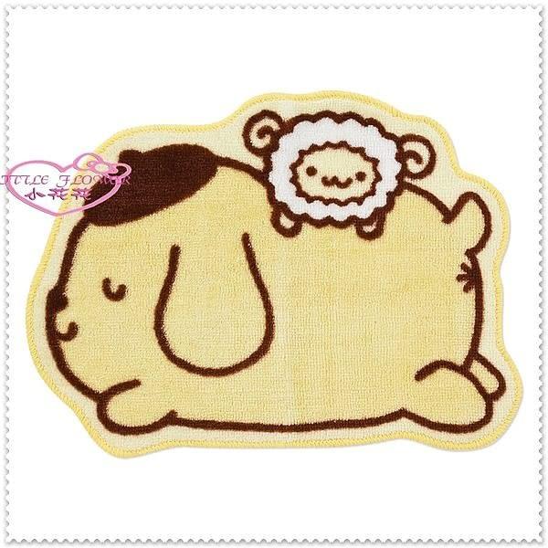 ♥小花花日本精品♥ Hello Kitty 布丁狗綿羊造型萬用造型地墊地毯腳踏墊34028506