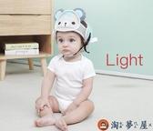 寶寶護頭枕嬰兒學步防摔頭部保護墊兒童學走路防撞護頭帽【淘夢屋】