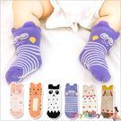 襪子寶寶嬰兒襪短襪立體卡通動物地板襪-JoyBaby