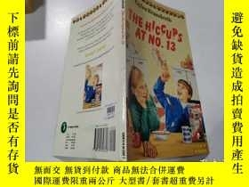 二手書博民逛書店the罕見hiccups at no.13:13號的打嗝Y200392 不祥 不祥