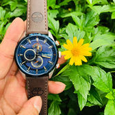 Timberland 天柏嵐 大地系列 日曆功能手錶-46mm TBL.15953JSTBL/03