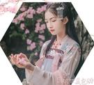 漢服漢服女超仙中國風古裝學生齊胸襦裙仙氣...