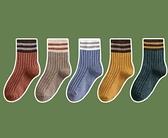 女童襪子 純棉春秋薄款中筒襪男童女童中大童春季加厚寶寶襪【快速出貨八折下殺】