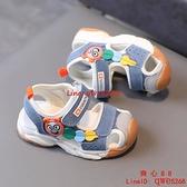 新款兒童包頭涼鞋卡通小公主寶寶鞋男童女童透氣小童涼鞋【齊心88】