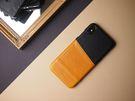Alto iPhone Xs Max 真皮手機殼背蓋 6.5吋 Metro - 焦糖棕/渡鴉黑 【可加購客製雷雕】皮革保護套